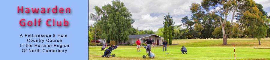 Hawarden Golf Club NZ